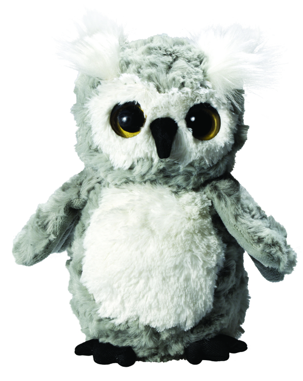 Owl Sophie is made of super soft plush.